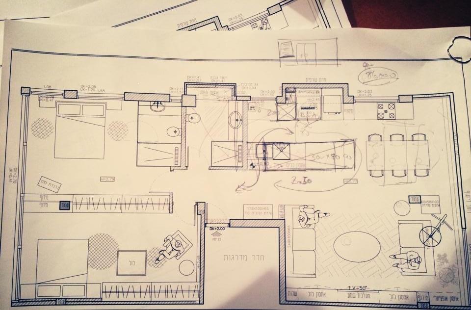 דוגמה לתכנית אדריכלית