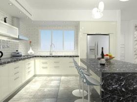 עיצוב דירה מקבלן - תאום שינויים אדריכליים ותכנון קפדני למקסימום ניצול שטח המגורים ומיקסום תחושת העושר והמרחב בחלל הבית. דבר שמאוד חשוב בתקופה בה הדירות הנמכרות מתוכננות תחת אילוצים תכנוניים ומגבלות שטח