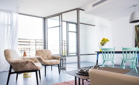 הדירה - אחרי. תכנון ועיצוב: גידי ליברמן