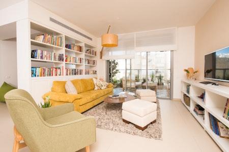 הדירה אחרי השיפוץ - תכנון ועיצוב: רחל ורשבסקי