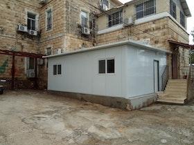 צילום של בניין ישן בירושלים