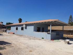 בית פרטי קרקע לאחר צביעת קירות חיצוניות