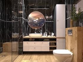 מקלחת משופצת מהייסוד