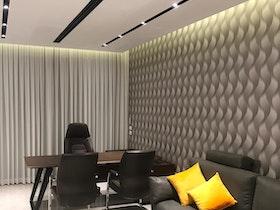 משרדים עם טפט מעותב