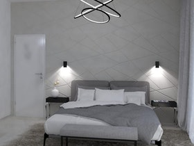 הדמיית חדר שינה