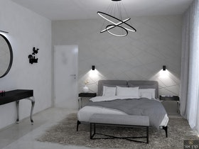 בדמיית חדר שינה