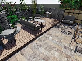מצגת חצר בית