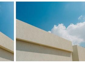 תמונת גג של בית משתי זויות שונות