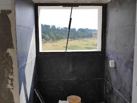 צילום תהליך שיפוץ מקלחת