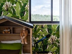 חדר ילדים עיצוב יער