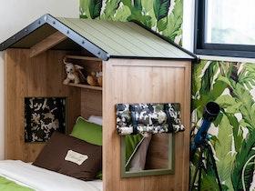 חדר ילדים, בעיצוב בית על העץ
