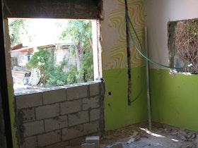 פנים הבית - לפני השיפוץ