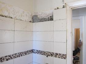 חיפוי קירות האמבטיה