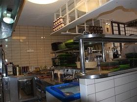 מטבח בית הקפה