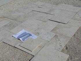 פריסת קרמיקה דמוי אבן מ 28 חלקים
